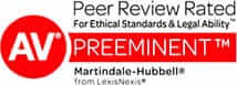 AV Preeminent Peer Review Rated